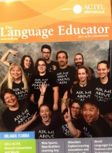 ACTFL2013 - Ask Me About Speaking Latin